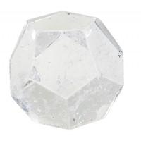 Dodécaèdre - Cristal de roche - 2 cm