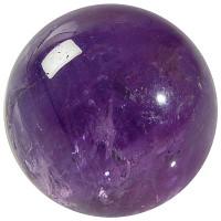 Sphère Améthyste - Pièce de 40 mm