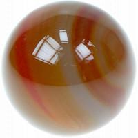 Sphère Cornaline Chauffée - Pièce de 40 mm