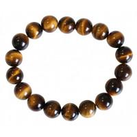 Bracelet - pierre de lave - noir -- 0.6 cm