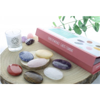 Coffret Massage Galets 7 Chakras