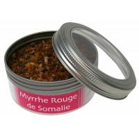 Encens Myrrhe Rouge de Somalie Résine naturelle Boîte 100 g