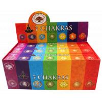 Encens Green Tree 7 Chakras - 15 grs