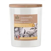 Bougie parfumée en Cire végétale Camomille Jasmin
