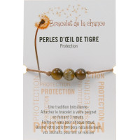 Bracelet de la chance - Perles d'Oeil de Tigre