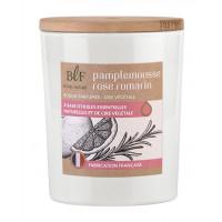 Bougie parfumée en Cire végétale Pamplemousse rose Romarin
