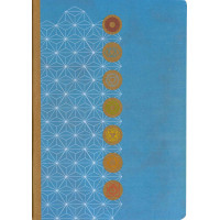 Carnet 7 Chakras - A5 - 64 Pages