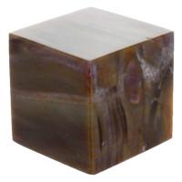 Cube Bois Fossile/Silicifié - 3,5 cm