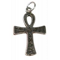 Croix Ankh - Argentée