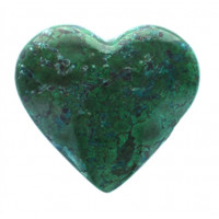 Coeur Chrysocolle 600 g - 700 g