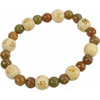 Fioles bijoux cristal de roche avec cordon