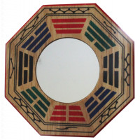 Miroir Pa-Kua - Concave - 15,5 cm