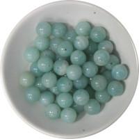 Perles Amazonite 8 mm - Sachet de 50 perles