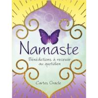 Namaste : Bénédictions à recevoir au quotidien. Cartes Oracle