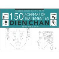 150 schémas de traitement en Dien Chan - Réflexologie faciale