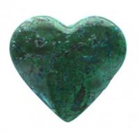 Coeur Chrysocolle 700 g - 800 g