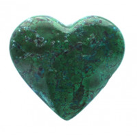 Coeur Chrysocolle 300 g - 400 g