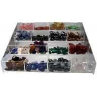 Présentoir acrylic Pierres 16 Cases - Vide