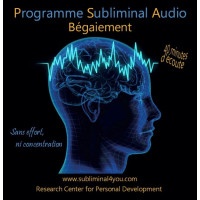 Programme Subliminal Audio - Bégaiement