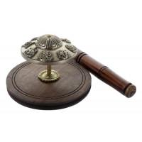 Gong de table en laiton