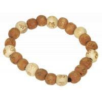 Lucky Karma Bois - Bracelet bois naturel / marron