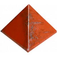 Pyramide Jaspe Rouge - Pièce 30 mm
