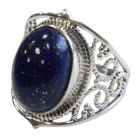 Bague Lapis Lazuli Argent 925 Kanti T53