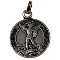 Médaille St Michel - Métal Argenté