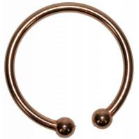 Bracelet cuivre avec Aimants 5 mm Forme jonc rond