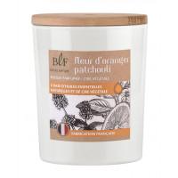 Bougie parfumée en Cire végétale Fleur d'oranger Patchouli