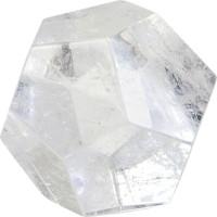 Dodécaèdre - Cristal de roche - 3 cm